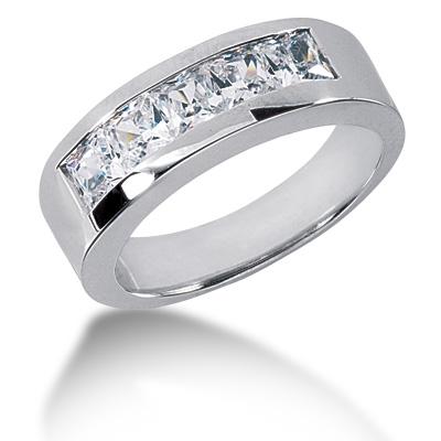 Pendentif homme avec diamant